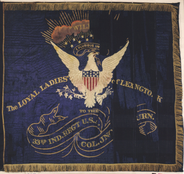 33rd Indiana Regimental Flag